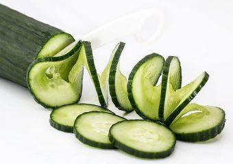 komkommersalade met munt, dille en